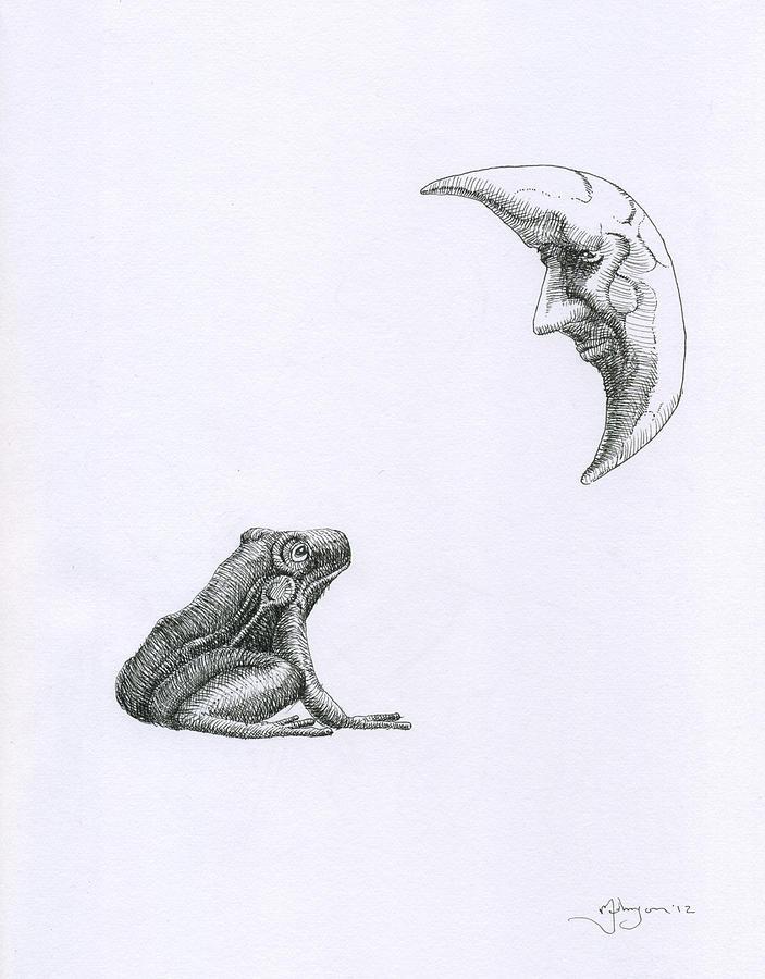 Surrealist Frog