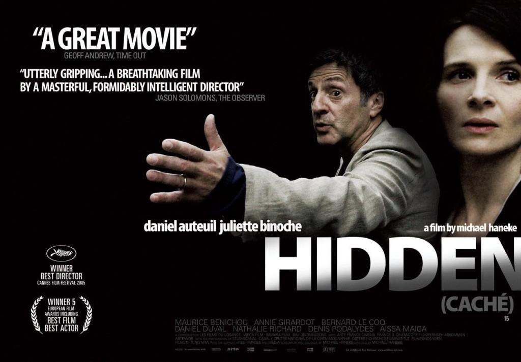Caché (Hidden) Film Poster