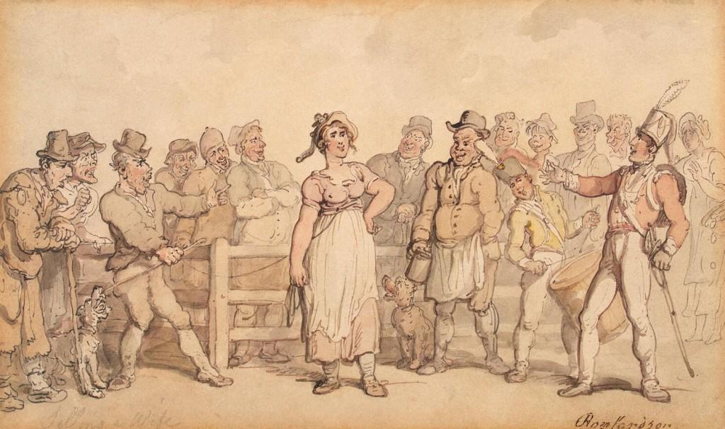 বউ বিক্রি (১৮১২-১৪) বাই থমাস রোল্যান্ডসন