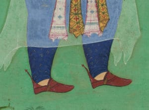 ১৩ হিজরীতে আঁকা মোগল ছবি।