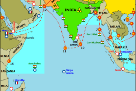 ভারত মহাসাগর ঘিরে চীন ও ভারতের ভূ-রাজনীতি
